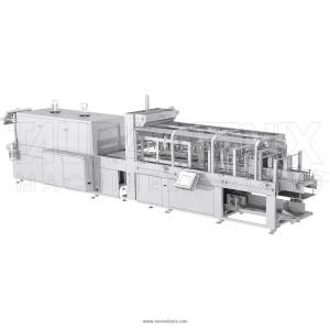Упаковочные линии «Турбопак 20 (блоки на подложке)»
